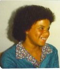 Teri with Afro
